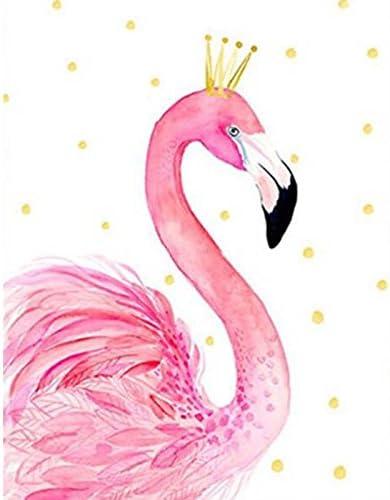 Flamingo Artesanía Joya pegatinas para arte y artesanía decoración de elaboración de tarjetas
