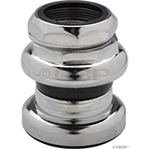 "Tange Passage New 1"" Threaded Headset, 26.4mm Chrome"