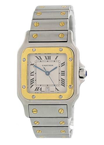 - Cartier Santos Galbee Quartz Male Watch 1566 (Certified Pre-Owned)