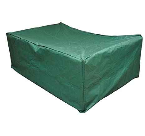 Outsunny Outdoor Sofa Sectional Furniture Set Cover, Green, 97 Inch X 65