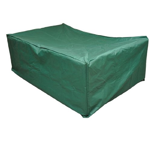 Outsunny Outdoor Sofa Sectional Furniture Set Cover, Green, 97-Inch x 65-Inch x 26-Inch (Used Outdoor Sectional Furniture)