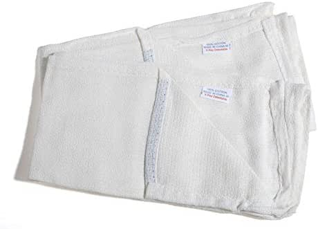 MediChoice OR Towel, Xray Detectable, White (Pack of 2)