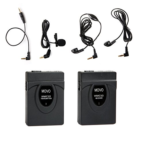 41i21ai86KL movo wmic50 2 4ghz wireless lavalier microphone system amazon co  at nearapp.co