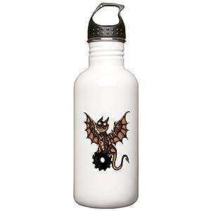CafePress – Steampunk Dragon Water Bottle – Stainless Steel Water Bottle, 1.0L Sports Bottle