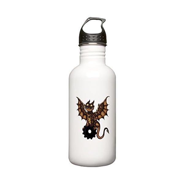 CafePress - Steampunk Dragon Water Bottle - Stainless Steel Water Bottle, 1.0L Sports Bottle 3