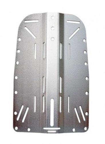 完成品 Storm B003E7Z344 Stainless Steel Accessories Backplate for Technical Scuba Backplate Divers by Storm Accessories B003E7Z344, わくいきライフ:10b9d82d --- arianechie.dominiotemporario.com