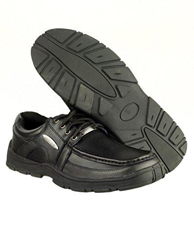 pour Mirak de Noir UK noir 11 catch garçon Chaussures qr4AnrHt