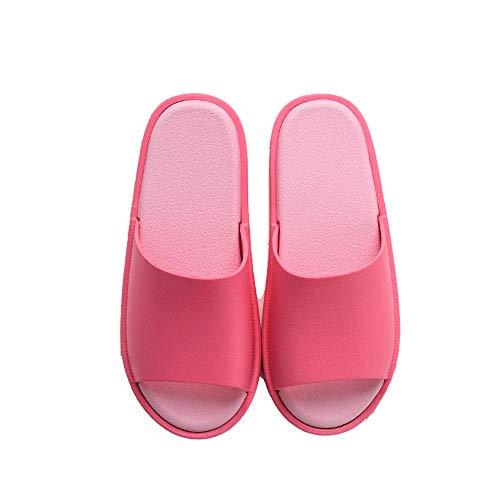 Semplici Red Dimensioni Antiscivolo 40 Plastica Casa colore Estate Pvc Donna Red Pantofole Bagno Da Morbide Lixizhong Di 6OxPSO
