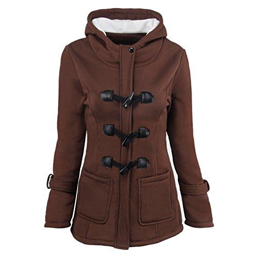coat zipper brown 35 - 8
