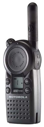 Motorola CLS1110 Professional UHF Two-Way Radio Walkie Talkie (4-Pack)