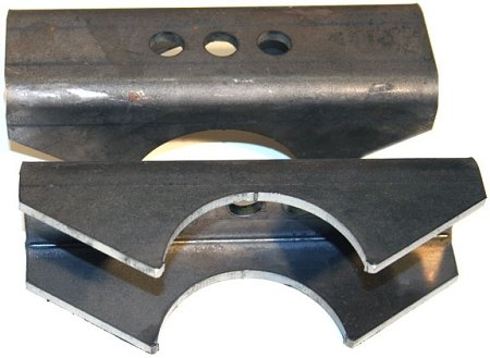 Barnes 4WD B4W25003BP - Anti-Wrap Leaf Spring Perch Pair, Dana 60, Ford 8.8 & Ford 9'' by Barnes 4WD