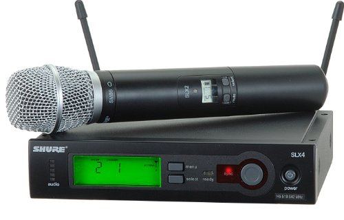 Shure SLX24/SM86 Handheld Wireless System, H5