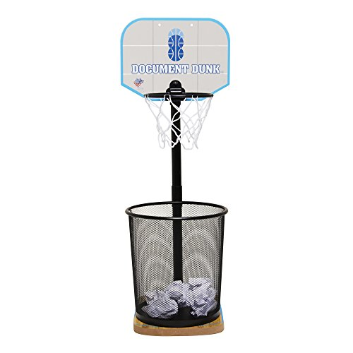 Document Dunk - The Trashcan Basketball Hoop For Office All-Stars (Basketball Stands And Hoops)
