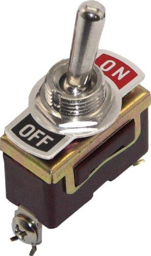 Shoreline Marine Toggle Switch On/Off (Brass)