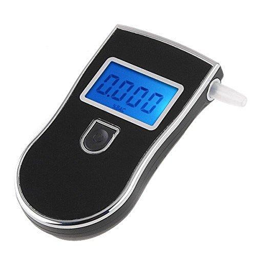 ZTOP® Professional Police Digital Alcohol Breath Tester, Electronics Digital LCD Breath Alcohol Tester Breathalyzer