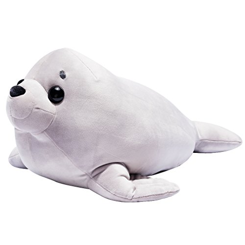 - LALA HOME Neat Soft Seal Plush | 28'' Large Stuffed Animal | Ocra Hugging Body Pillow | Children's Gifts
