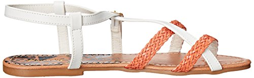 Qupid Women's ARCHER-61X Toe Ring Sandal White pJNyeWj