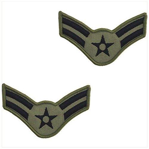 - Vanguard AIR FORCE EMBROIDERED CHEVRON: AIRMAN FIRST CLASS - LARGE ABU