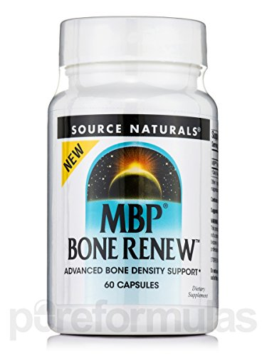 MBP Bone Renew, 60 Caps by Source Naturals (Pack of 4) by Source Naturals