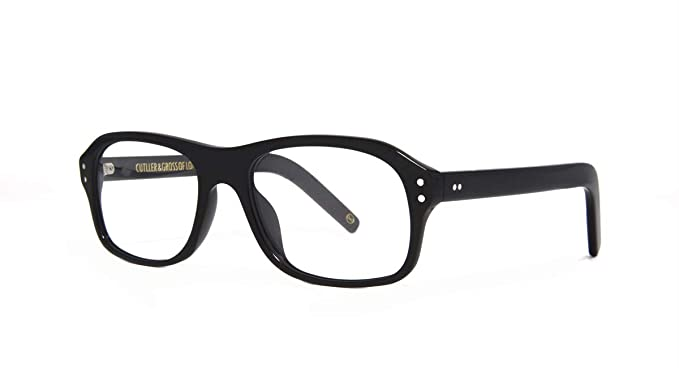 0a45a86544 Amazon.com  Kingsman2 The Golden Circle Clear Lens Man Acetate Frame  Optical Glasses Eyeglasses Eyewear (Black)  Clothing