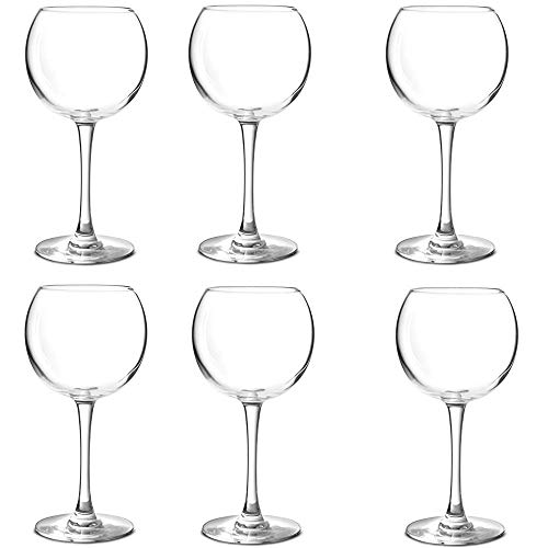 Chef & Sommelier Cabernet Balloon Red & White Wine Glass Glasses Set of 6 ()