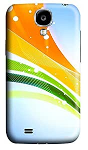 Samsung S4 Case 3D Colorful Ribbons 3D Custom Samsung S4 Case Cover