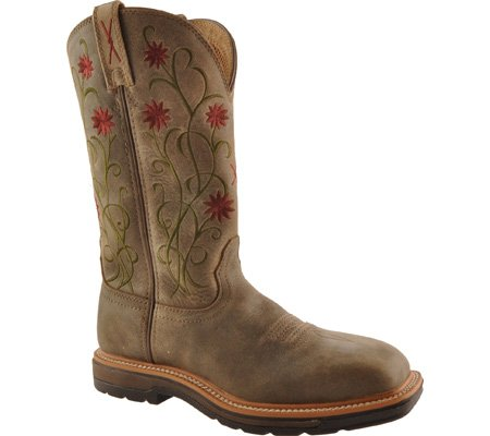 Twisted X Ladies Bomb Lite Cowboy Work Boots B005DIH278 7 C/D US|Bomber/Bomber