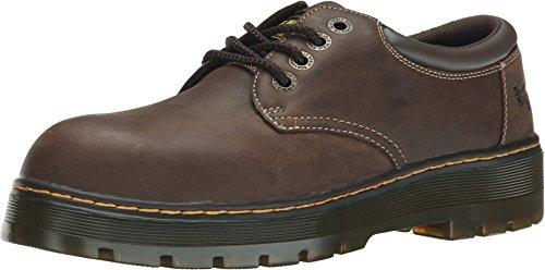 Dr. Martens Men's Rivet Steel Toe Leather Work Boots