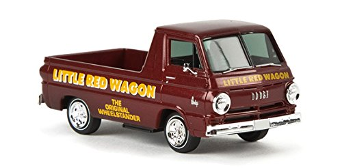 1964 Dodge A 100 Pickup Truck - Assembled -- Little Red Wagon (maroon, yellow)