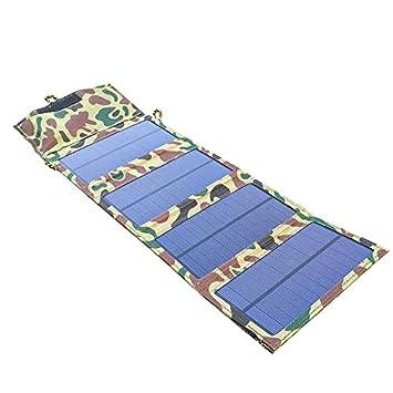 TOOGOO Portátil 7W Cargador Solar Panel Solar Bolsa De Carga ...