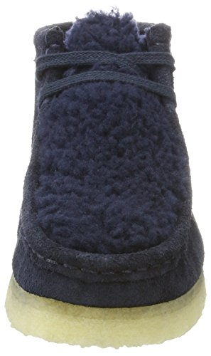 Wallabee Blu Suede Originals navy Boot Stivali Clarks Donna 167AqwT