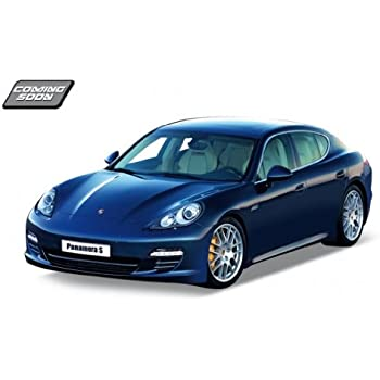 Porsche Panamera S Blue 1:24 Diecast Model Car by Welly