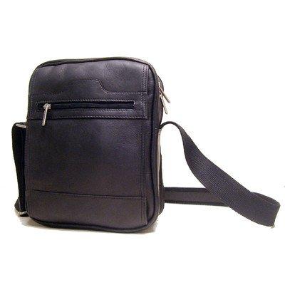 Le Donne Leather Men's Day Bag (Black) by LeDonne