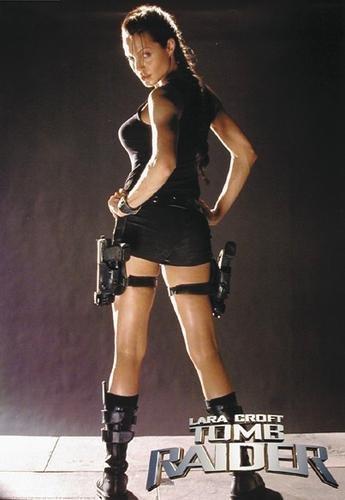 Tomb Raider Lara Croft Movie Poster Large Amazoncouk Kitchen