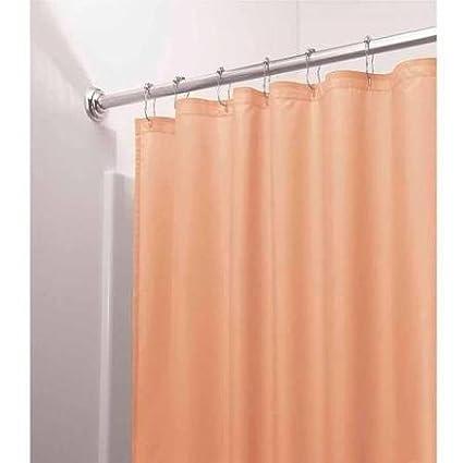 Amazon DINY Bath Elements Heavy Duty Magnetized Shower Curtain