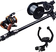 Fishing Line Spooler - Portable Fishing Line Winder Reel Spooler Spooling Station System Baitcaster Reel Line
