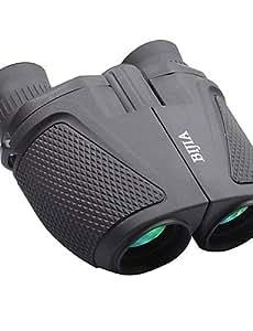 Bijia 12x 25Waterproof Ultra-Clear High-Powered Binoculars - Black