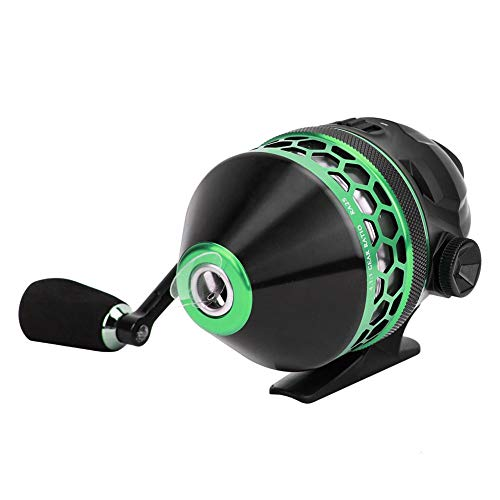 Fishing Reel High Speed Casting Wheel Slingshot Fishing Reel Spincast Catapult Closed Reel for Fishing Replacement Accessory