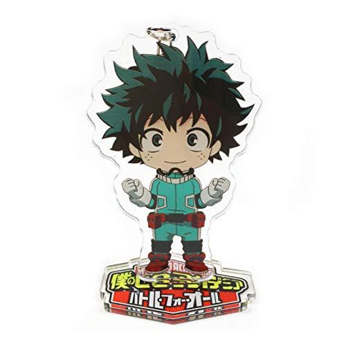 Yvetel My Hero Academia Anime(Boku no Hero Academia) Manga Acrylic Desk Decoration Figure (Keychain) Izuku Midoriya,Katsuki Bakugo,Shoto Todoroki (Izuku Midoriya)