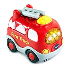 VTech Go! Go! Smart Wheels Fire Truck, Multicolor