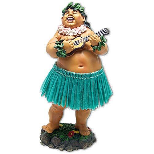 KC Hawaii Dashboard Hula Doll Local Boy with Ukulele 7