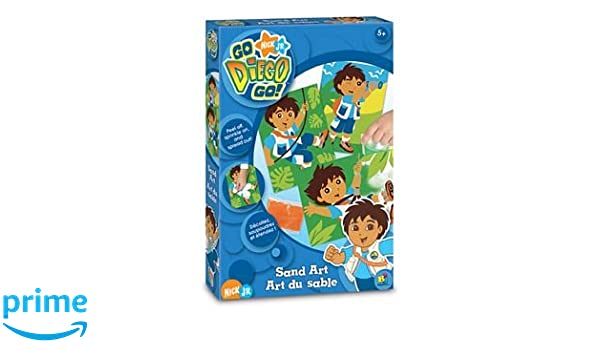 Go Diego Go Sand Art Kit by Bojeux