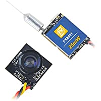 Crazepony FX806TC Tiny Whoop Camera 25mW 600TVL Detachable VTX Camera for Blade Inductrix