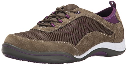 Grasshoppers Women's Explore Lace Fashion Sneaker, Olive, 9.5 M US