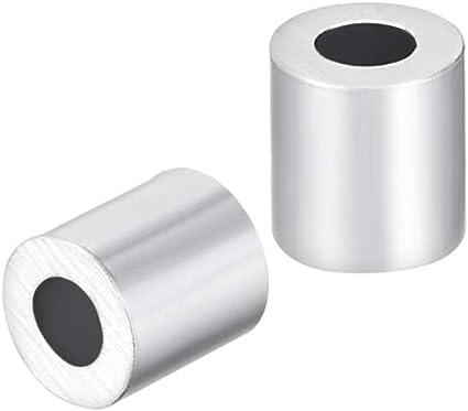 10 pcs manchon aluminium pour câble DIN EN 13411-3 2mm