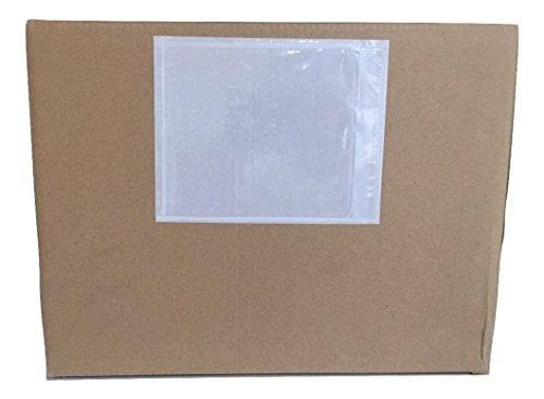 1000 - 7'' X 10'' - Clear Packing List Envelope (Plain - No Print) by POSTUFF