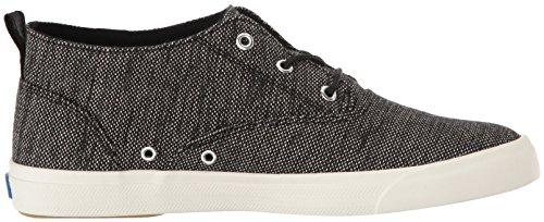 Keds Womens Triumph Mid Salt and Pepper Fashion Sneaker Black nTiyW9gvI