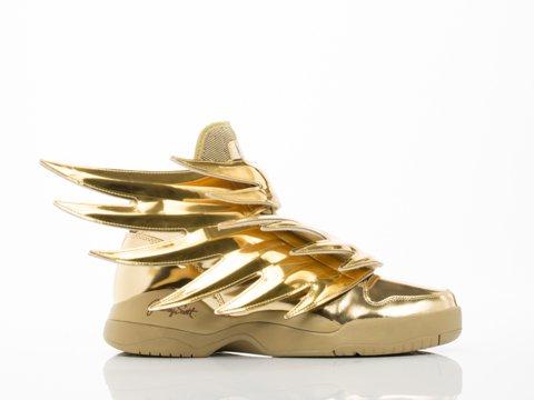 Adidas x Jeremy Scott Men JS Wings 3.0 (gold)-8.0 (Adidas Js Wings)
