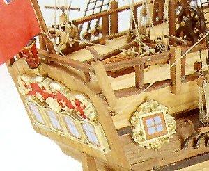 DUS/_MV47 Mamoli Modello kit barca ENDEVOUR Wooden ship model kit