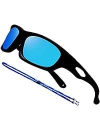 Bendable Rubber Kids Polarized Aviator Sunglasses Boys...